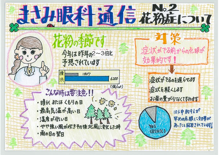 No.2 花粉症について