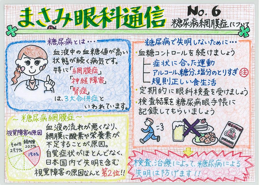 No.6 糖尿病網膜症について