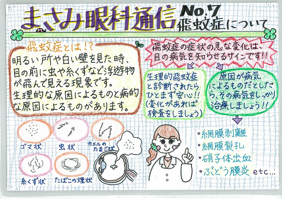 No.7 飛蚊症について
